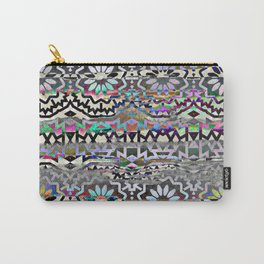 Bohemian colorful pattern, festyval style Carry-All Pouch