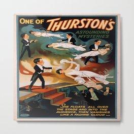 Vintage poster - Thurston the Magician Metal Print