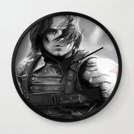Winter Soldier/Bucky Barnes Wall Clock