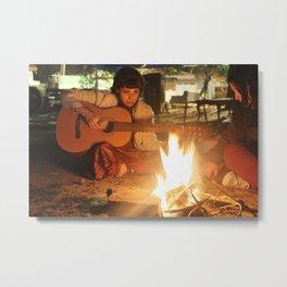 Fire Girl Metal Print