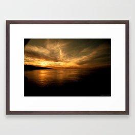 Sorento Sunset Framed Art Print