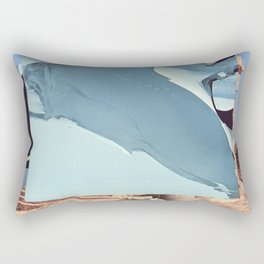 Untitled / Paper collage / 2013 Rectangular Pillow