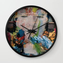 Beauty on Wheels Wall Clock