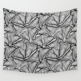 wave storm Wall Tapestry