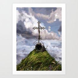 in memoriam. Terra_ Art Print