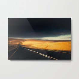 A Storm To Brighten The Day Metal Print