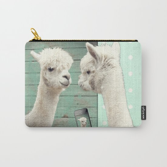 NEVER STOP EXPLORING - SELFIE Carry-All Pouch