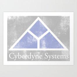 90's Cyberdyne Systems Logo Art Print