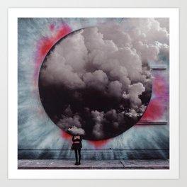 Clouded Judgment Art Print