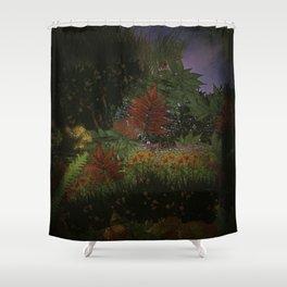 The Mystical Garden Shower Curtain