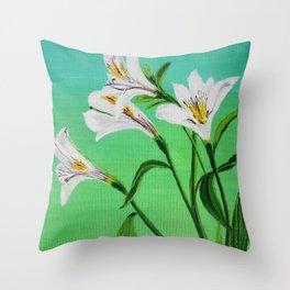 Light Breez Throw Pillow