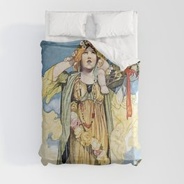 """""""Summer"""" by Charles Robinson Comforters"""