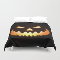 halloween Duvet Covers featuring Halloween by Nicklas Gustafsson