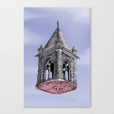 Fleshy Architecture  Canvas Print