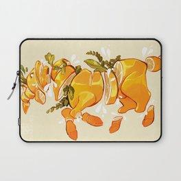 Lemon Sliced Goat Laptop Sleeve