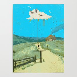 DREAMING IN FOOTHILLS Poster