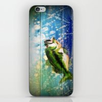bass iPhone & iPod Skins featuring Bass by Christina Miller