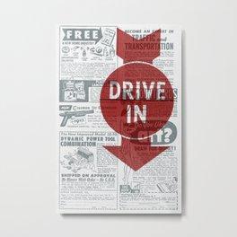 DriveThru Metal Print