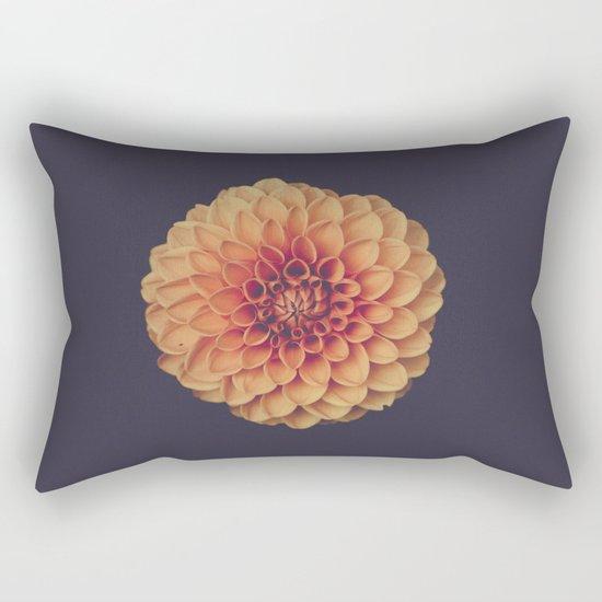 Yellow Flower Petals Rectangular Pillow