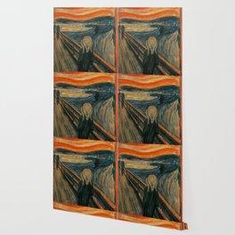 The Scream - Edvard Munch Wallpaper