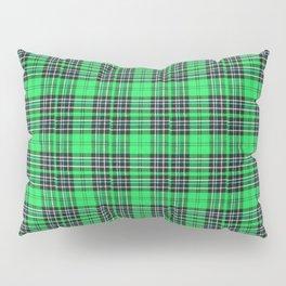 Lunchbox Green Plaid Pillow Sham