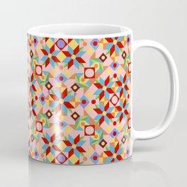 Pink Patchwork Quilt (printed) Coffee Mug