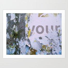 Temporary Landscapes Series Art Print