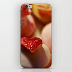 heart cupcakes iPhone & iPod Skin