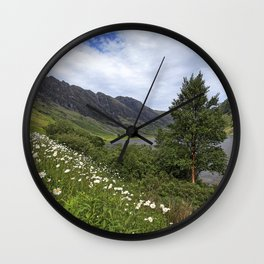 Glen Coe, Scottish Highlands Wall Clock