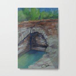 Alcazaba Cistern WC151209k-14 Metal Print