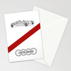 RennSport Speed Series: The Four Rings Stationery Cards