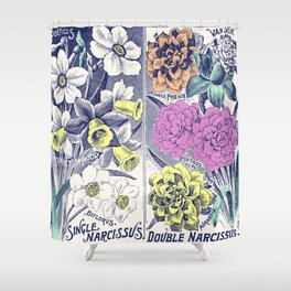 Narcissitic Poetry Shower Curtain