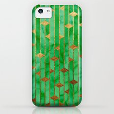 Green Marble Skyscrapers iPhone 5c Slim Case