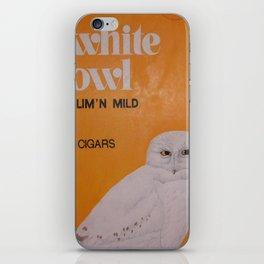 White Owl Cigars iPhone Skin