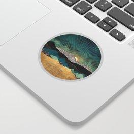Peacock Vista Sticker