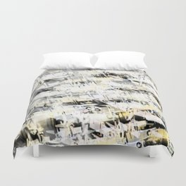 Flight Abstract Vertical Duvet Cover