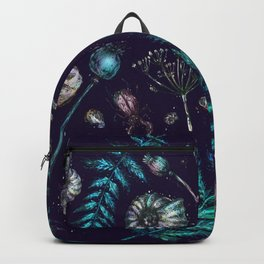 Mystical natural pattern Backpack