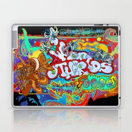 Other Worlds: The Game Logo Design Laptop & iPad Skin