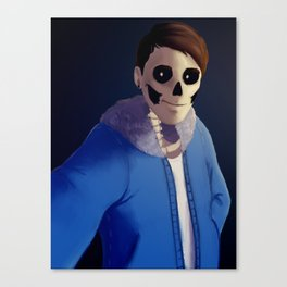 Danisnotonfire as Sans Canvas Print