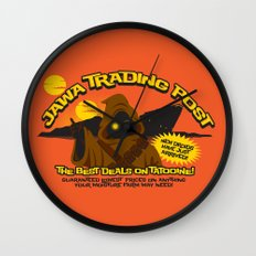 Jawa Trading Post Wall Clock