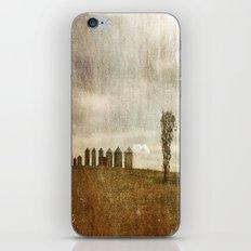 Nine Silos a Tank and a Tree iPhone & iPod Skin
