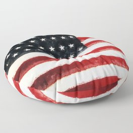 USA Flag ~ American Flag ~ Ginkelmier Inspired Floor Pillow