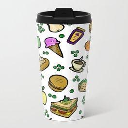 Food #2 Metal Travel Mug