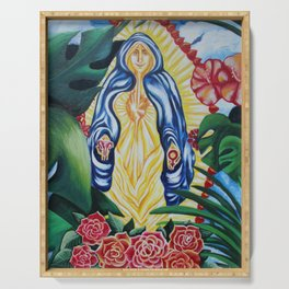 Holy VG Mother Mary Serving Tray