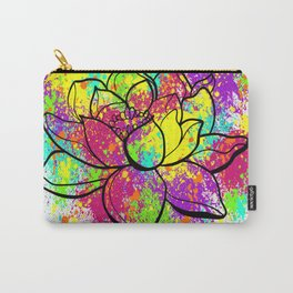 Zen Lotus Carry-All Pouch