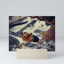 Urban Butterfly Mini Art Print