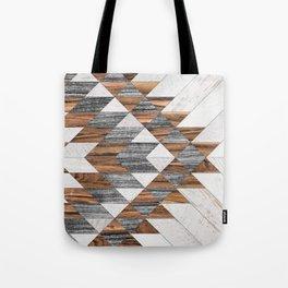 Urban Tribal Pattern No.12 - Aztec - Wood Tote Bag
