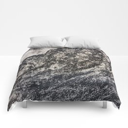 Grey Moutain by Gerlinde Streit Comforters