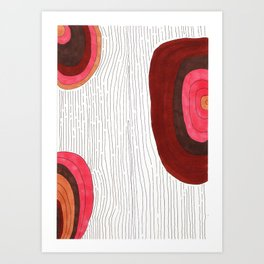 Wooden One Art Print