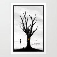 Quiet Places No. 26 Art Print